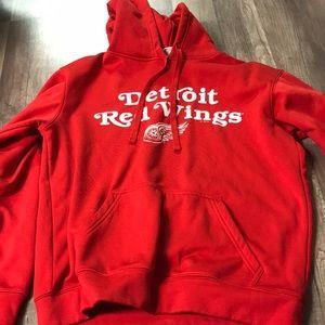 Detroit red wings hoodie.